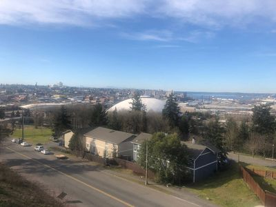 Photo for DT / Tacoma Dome BRAND NEW quiet condo w/ VIEWS!!!