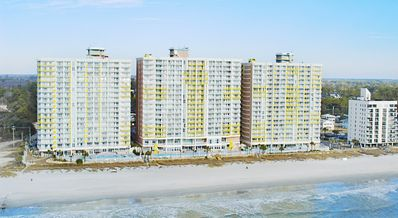 Photo for Baywatch Oceanfront 2BR/2BA  $899.00 total all fees incl 9/1-9/8