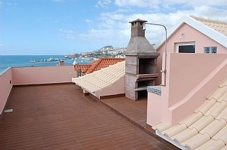 The new roof terrace