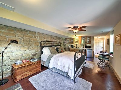 Photo for NEW! Augusta Studio at Halcyon Spa Bed & Breakfast