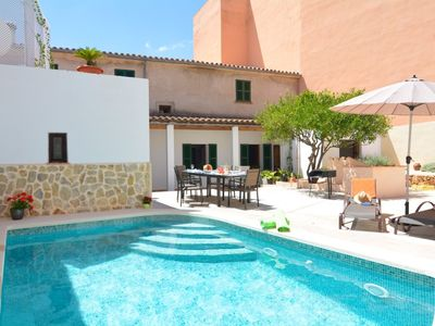 Photo for Apartment in the center of Ariany with Internet, Air conditioning, Pool, Terrace (727215)