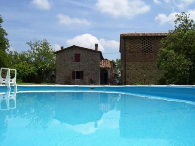 Photo for Holiday house Chiusdino for 1 - 6 persons with 3 bedrooms - Farmhouse