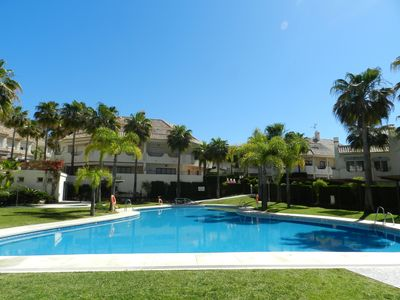 Photo for 1st Line Bono Beach Resort In Marbella - Great For Family Holidays