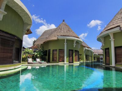 Photo for 1 Bedroom Lagoon Pool Access, great location at Seminyak Free Wi-fi