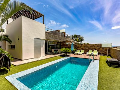 Photo for Luxury modern villa in El Duque area, just 250m from the beach