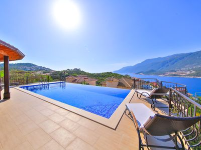 Photo for Villa Canada with private pool and sea view