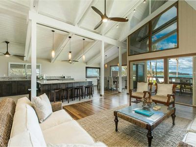Photo for Beachfront Property, High Ceilings, Private Living Space
