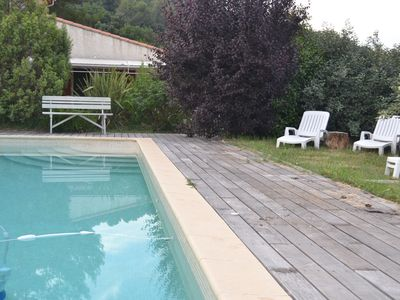 Photo for Studio 28m ² in villa of Var Calm and Swimming pool.