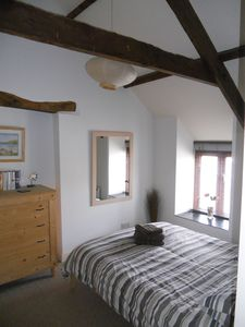 Bedroom 1 with exposed beams