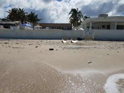 Beach Front Home with Pool - Chuburna Puerto
