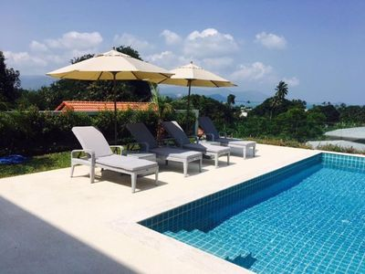 Photo for Bright and Stylish villa in Koh Samui