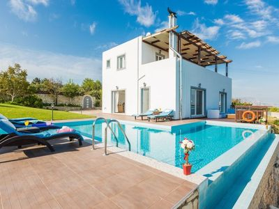 Photo for 3 bedroom Villa, sleeps 6 in Kampia with Pool, Air Con and WiFi