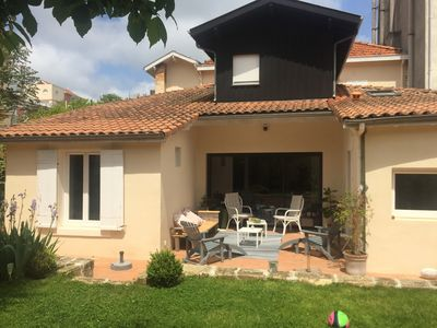 Photo for Arcachon center, 50m from the beach family home of 220m2