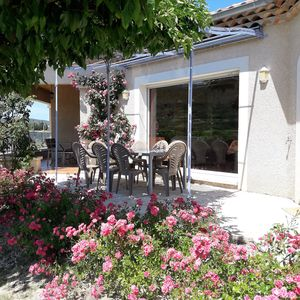 Photo for Great villa with panoramic views very close to Vallon Pont d'Arc