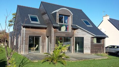 Photo for Wooden house South Brittany near the beach