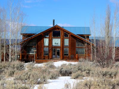 Photo for Magpie Meadows - Your Mountain Log Home Away from Home!