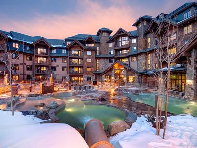 Photo for Ski in/out luxury condo, sleeps 4, available March 3-10 2019