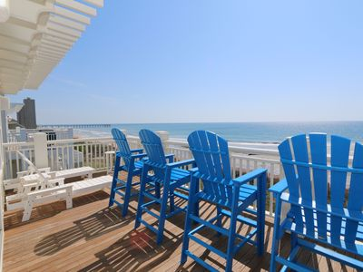 Photo for C Street B - Incredible Ocean Front Condo in the heart of Wrightsville Beach