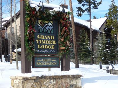 Photo for Premium Christmas Week at Grand Timber Lodge; 2 Bedroom Full Kitchen Condo