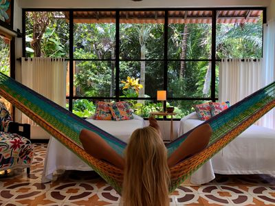 Wonderful  Cozy BungalowStudio Located in the Cancun Jungle 7Km from airport