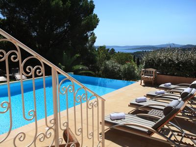 Photo for Luxury Villa Les Issambres heated pool