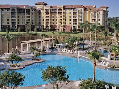 Photo for Wyndham Bonnet Creek RESORT ~ 2B ~ Adjacent to Disney!! FAMILY FUN!