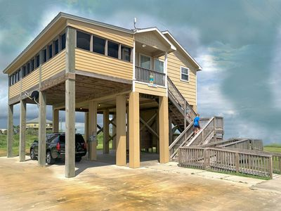 Photo for Beach And Bay offers the best of both worlds!  Both beautiful views in one house