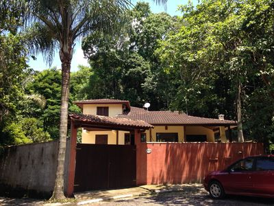 Photo for Retreat in Feiticeira-Ilhabela - Full home for 12 with pool and air in condo