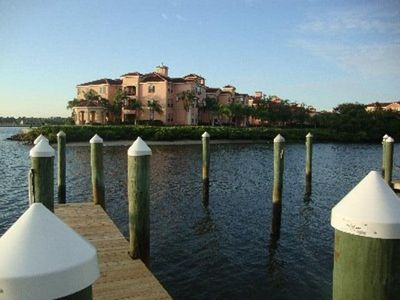 Photo for Water Front Luxury Condo In a Gated Property