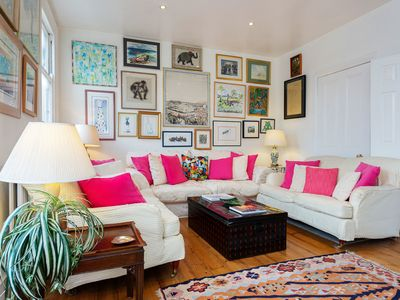 Photo for A pretty property with exceptional levels of natural light in Fulham (Veeve)