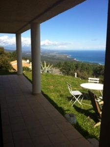 Photo for Villa ground floor Independent apartment with panoramic sea and mountain views