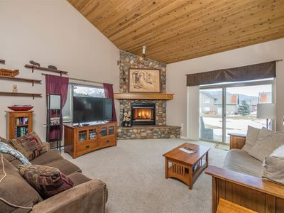 Photo for Firelight Retreat with private Hot Tub & on free shuttle route!