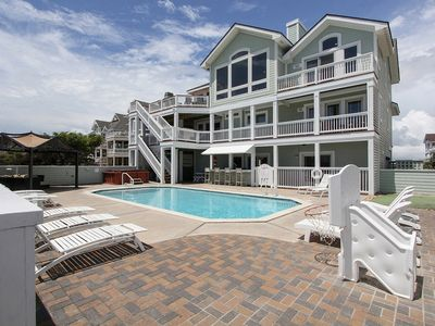 Photo for Oceanfront Luxury With 6 Master Bedrooms, Private Pool, Hot Tub & Theater Room