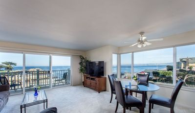 Photo for Lover's Point 6 - Pacific Grove Townhome - Oceanfront Lovers Point