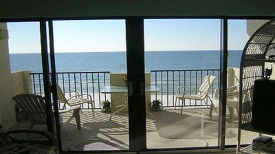 Photo for Tropical Winds 504 Beautiful Beachfront- Corner Unit