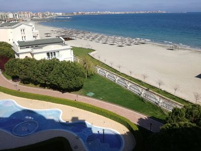 Photo for R) Sunset Resort in Pomorie, Lg. 2 bed apt. in Alpha Building with SEA VIEW
