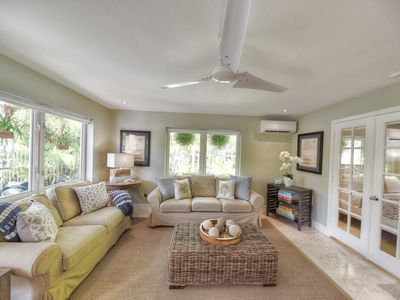 Photo for Casa Marina home with spacious backyard, private pool and mature landscaping for privacy