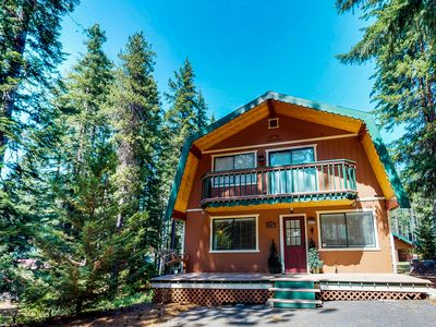 Photo for Three separate cabins, Fish Lake access, game room,  & private hot tub!