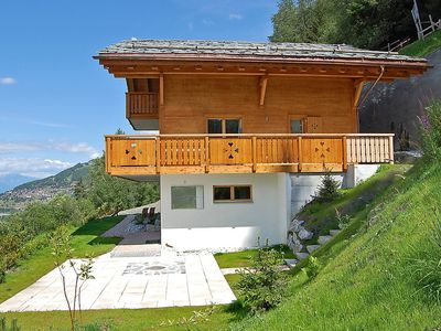 Photo for House in the center of Nendaz with Parking, Internet, Washing machine, Balcony (37375)