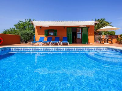 Photo for With pool in a quiet location - Villa Ses Salines