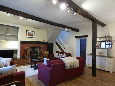 Photo for Village Life, Country Living!  3 bedroomed character cottage - Brook House 2