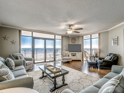 Photo for Large Oceanfront Five Bedroom Condo - Available by Luxury Beach Rentals