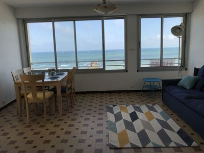 Photo for For rent Palavas T3 71m2 1st line sea view