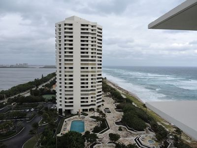 Photo for Beautiful 12th floor apartment -located between the ocean and the intracoastal.
