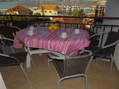 Photo for Apartment Mara  A3(4+1)  - Okrug Gornji, Island Ciovo, Croatia