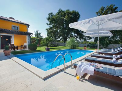 Photo for Romantic villa with private pool in Central Istria