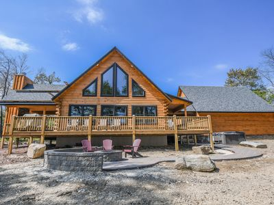 Photo for NEW Listing: Minutes from Lake Activities, Golf & Skiing