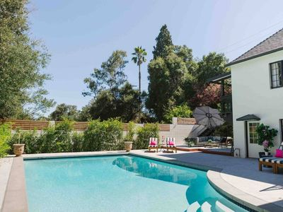 Photo for 1920s Pasadena Cottage Steps from RoseBowl w/ Pool