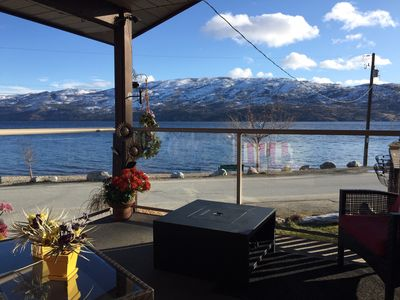 Photo for Lake side accommodations on the beautiful Okanagan lake