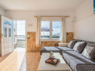Photo for Charming Apartment Directly On Seaside Close to Caletón Blanco with Wi-Fi